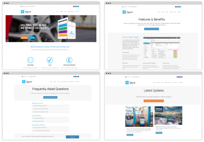New Website Launched for Tequra Analytics